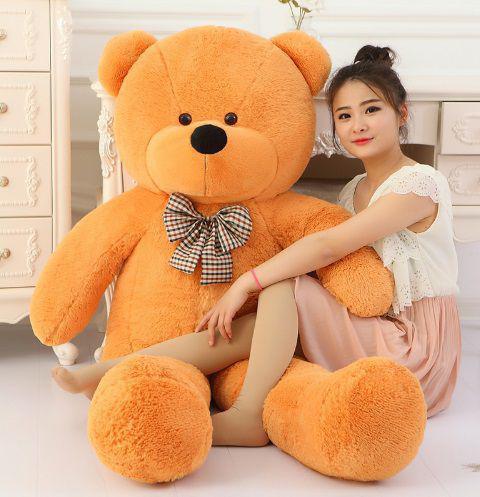 253bd1245 Urso Gigante De Pelucia Teddy Bear Gigante 2 Metros 200 cm Cheio - Ursos e  pelucias R  379