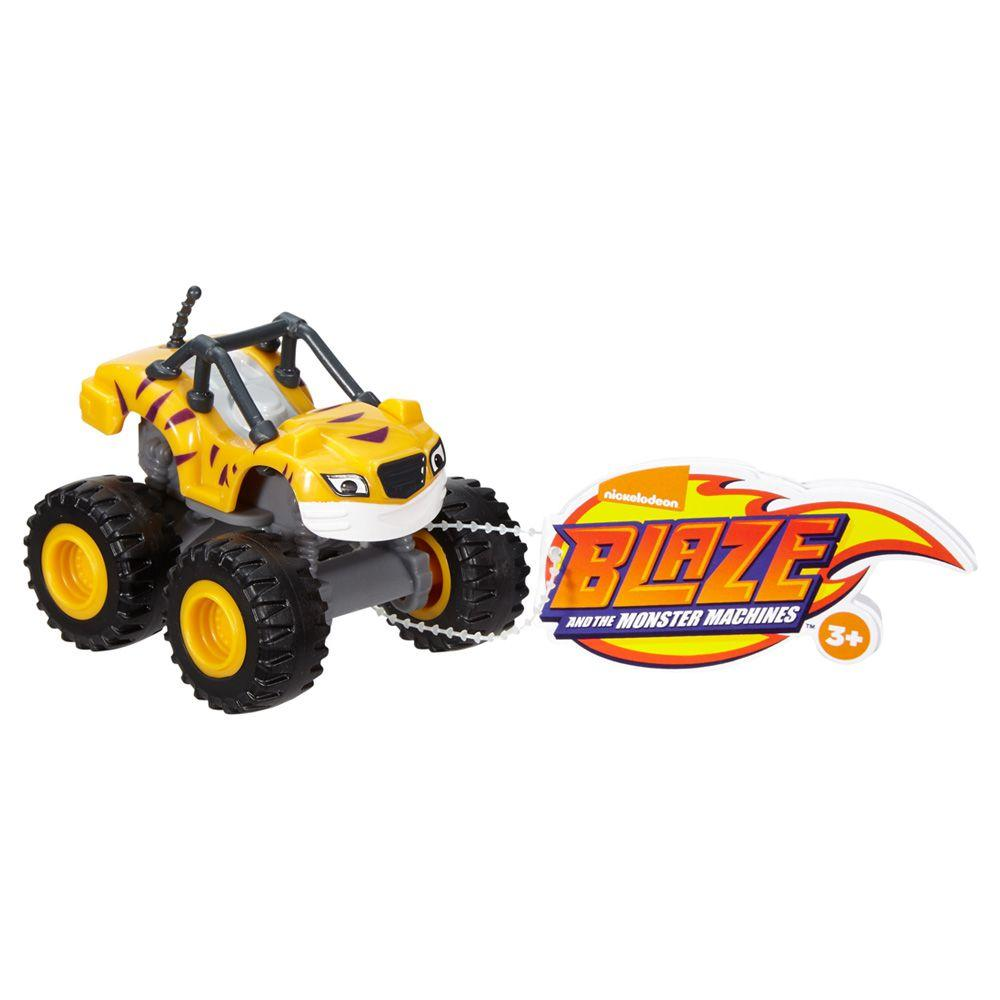 0ac3fd3e83 Veículo Básico - Blaze and The Monsters Machine - Amarelo - Fisher-Price -  Fisher price R  34