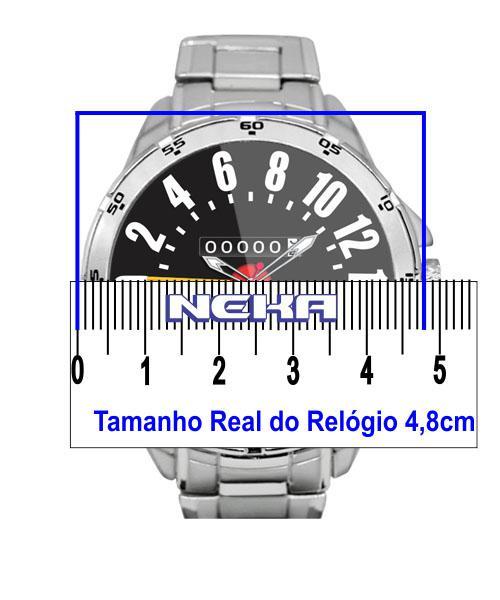 1d0c7fb688f Velocimetro Jeep Willys Relógio Personalizado 5776 - Neka - Relógio ...