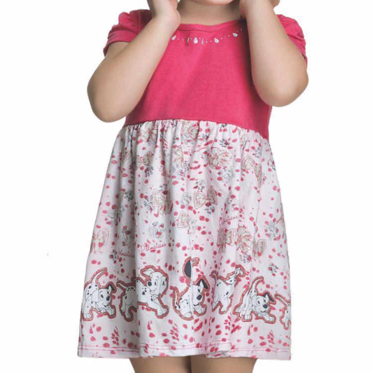 91cafd821 Vestido Bebê Disney 101 Dálmatas - Romitex R$ 14,99 à vista. Adicionar à  sacola