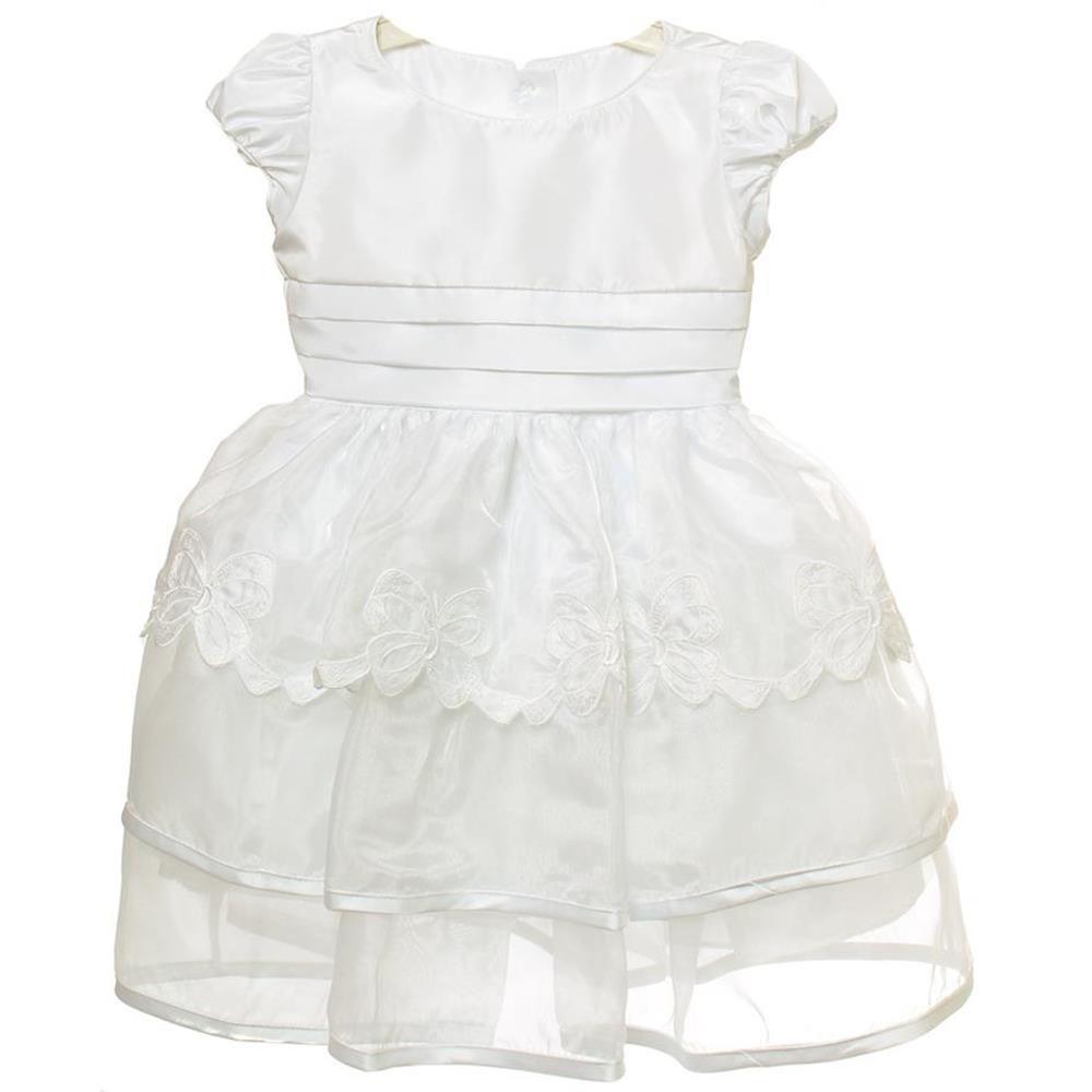 be2d161b4 Vestido Bordado Laços - Mio bebe - Vestido para Bebê - Magazine Luiza