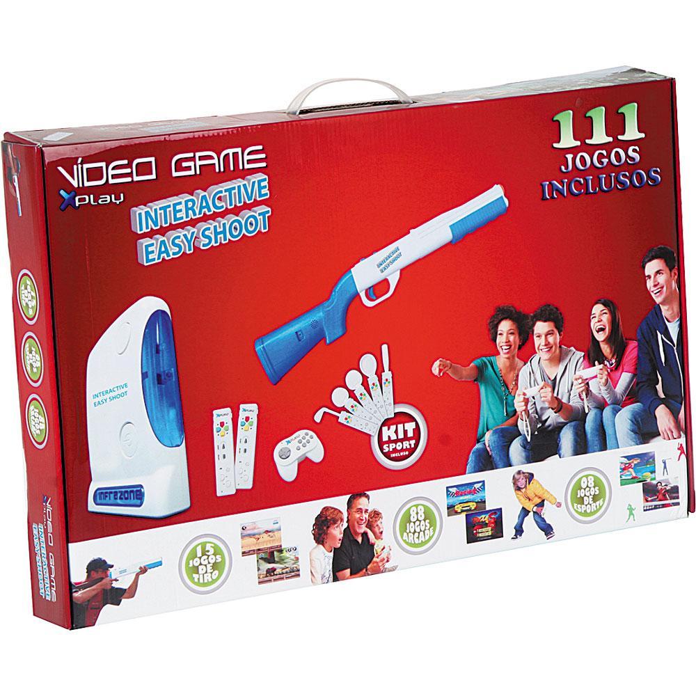 Videogame Interactive Easy Shoot 111 Jogos 4 Joysticks XP199 ...