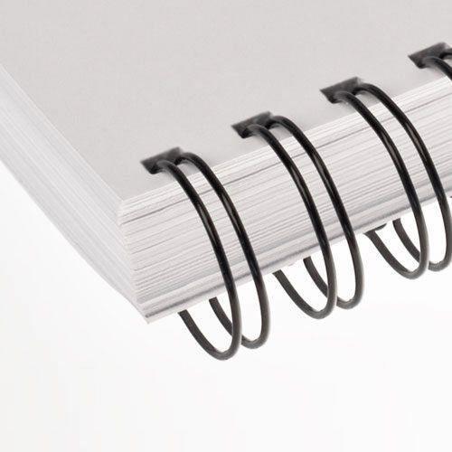 cb168ac19 Wire-o para Encadernação 2x1 A4 Preto 3 4 para 140 fls 50un - Marpax R   74