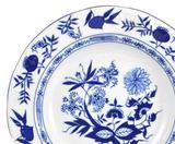 06 Prato De Sobremesa Cebolinha Porcelana Schmidt