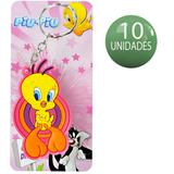 10 Chaveiros Divertidos Piu Piu Looney Tunes Warner Bros lembrancinha Festa - Amacom