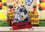 10 Mochilinhas Personalizada Mickey - Blank art studio