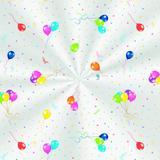 100 Saco Transp. 20X29Cm Festa Baloes Colorido - Cromus