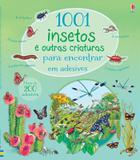 1001 insetos e outras criaturas para encontrar em adesivos