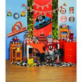 12 Picks Para Cupcake Hot Wheels Sortido Decoração Festas - Cromus