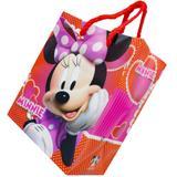 12 Sacolas Minnie Mouse Lembrancinha Aniversário 14 X 11,5cm - Comercial wei
