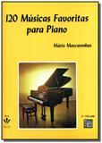 120 musicas favoritas para piano - vol. 2 - Irmaos vitale
