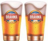 2 Copos Brahma Chopp 350ml - Embalagem Individual