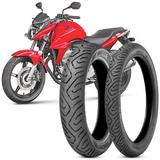 2 Pneu Moto Cb 300 Technic 140/70-17 66s 110/70-17 54s Sport