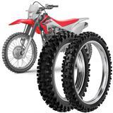 2 Pneu Moto Crf 230F Rinaldi 110/100-18 64m 80/100-21 51m RW33