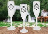 20 Taças Personalizadas para Casamento - Blank art studio