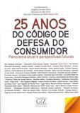 25 Anos do Cod.Defesa do Consumidor - 01Ed/17 - Gz editora
