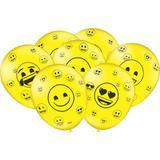 25 Balões Emoji * Balão Bexiga para Decoração de Festa Infantil - Festcolor