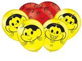 25 Balões Magali * Balão Bexiga para Decoração de Festa Infantil - Festcolor