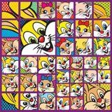 25 Sacos P/Embalar Ovo Pascoa 500G Fotos Coelho Amarelo - Cromus pascoa