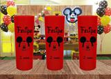 30 Copos Long Drink Personalizado Mickey - Blank art studio