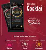 36 Preservativos Blowtex Skyn COCKTAIL - Nova experiencia Sensual e Sedutora