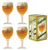 4 Taças de cerveja Bohemia Confraria 430ml - Ambev