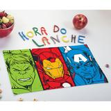 4 Toalhas de Lancheira Infantil Estampada Avengers - Lepper