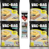 5 Sacos À Vácuo Vac Bag Ordene Médio 45x65 + Bomba Manual