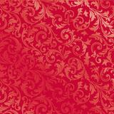 50 Saco Metalizado P/Presente 25X37 Arabesco Vermelho - Cromus