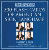 500 flash cards of american sign - Barrons educational