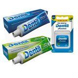 6 Creme Dental Menta 90g + 6 Acqua Plus 90g Dentil + Fio Den