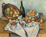 A Cesta de Maçãs - Paul Cézanne - Tela 30x37 Para Quadro - Santhatela