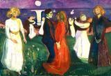 A Dança da Vida - Edvard Munch - Tela 60x86 Para Quadro - Santhatela