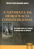 A Natureza da Democracia Constitucional - Juruá