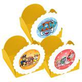 A1-Forminhas para Doces Amarela Patrulha Canina - 10 unds - Vem festejar