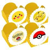 A1-Forminhas para Doces Pokémon Amarela 10 unds - Vem festejar