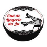 A1-Lembrancinha Latinha Chá de Lingerie Modelo 03 - Vem festejar