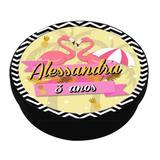 A1-Lembrancinha Latinha Flamingo Tropical - Mz decoraçoes e festas