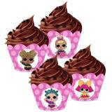 a1-Wrapper para Cupcake LOL c/ 12 unidades - Mago