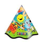 A2-Chapéu de Aniversário Gumball c/ 08 unidades - Festcolor
