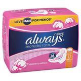 Absorvente Always Pink Suave Com Abas Leve 32 Pague 28