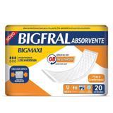Absorvente Bigmaxi Com 20 Unidades - Bigfral