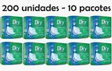 Absorvente Dry geriátrico, pós parto, pós operatório, unissex, fardo com 10 pacotes - Mardam