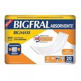 Absorvente geriátrico bigfral maxi - 20 unidades - Pom pom