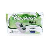 Absorvente Geriátrico Bigfral Moviment Miss Super 10 Unidades
