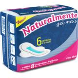 Absorvente Higienico Naturalmente GEL Mais com ABAS PCT.C/08 EVER Green