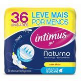 Absorvente Intimus Noturno Suave Com Abas Com 36 Unidades