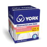 Absorvente York Para Seios Leve 30 Pague 24
