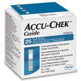 Accu-chek Guide C/ 25 Tiras Reagentes - Accu check