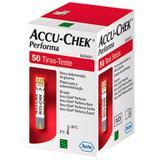 Accu Chek Performa Roche Com 50 Tiras